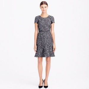 J. Crew mixed tweed fit and flare dress - size 2